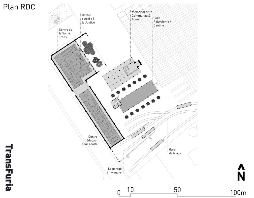 Le rez-de-chaussée – Des espaces publics, des espaces polyvalents et des rdc libres.