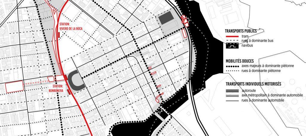Réflexion sur les voies piétonnes, voitures ou bus