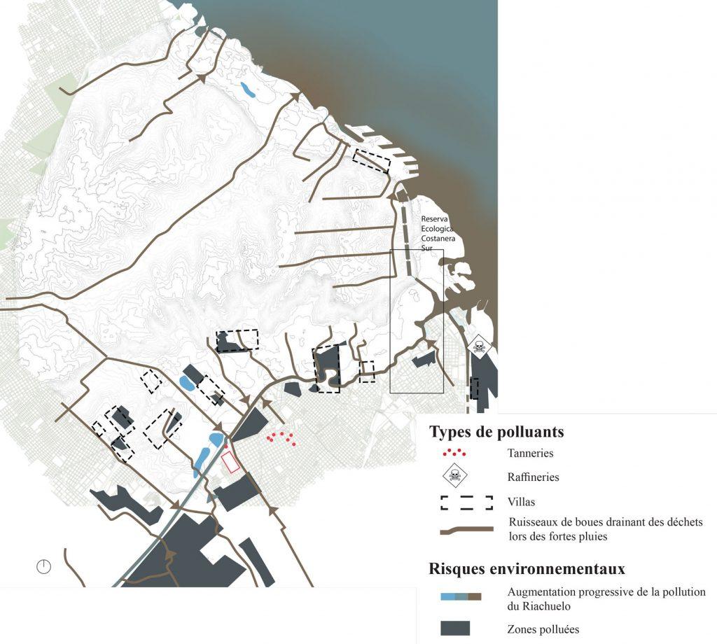 Et si le Riachuelo était dépollué ? Sources de contamination du Riachuelo et ruissellement en cas de fortes pluies