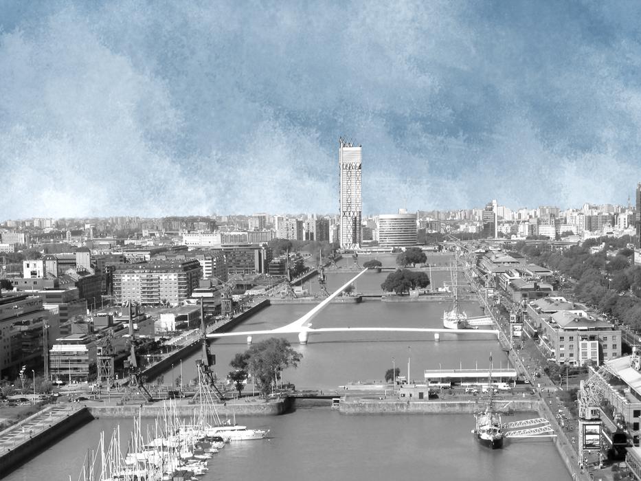 Nouveau signal: la nouvelle tête des bassins de Puerto Madero