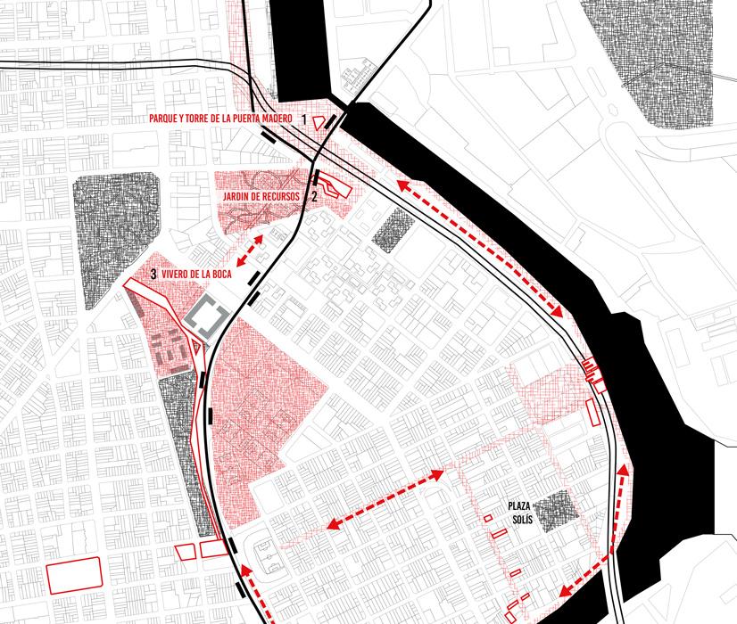 3 projets traitant du rapport nature-ville