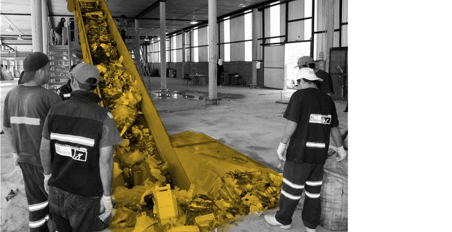 «Jardin de ressources» – un centre citoyen de tri et de transformtion de déchets