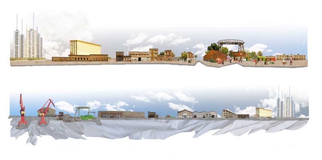 Un quartier en rive du Riachuelo marqué par un passé industriel
