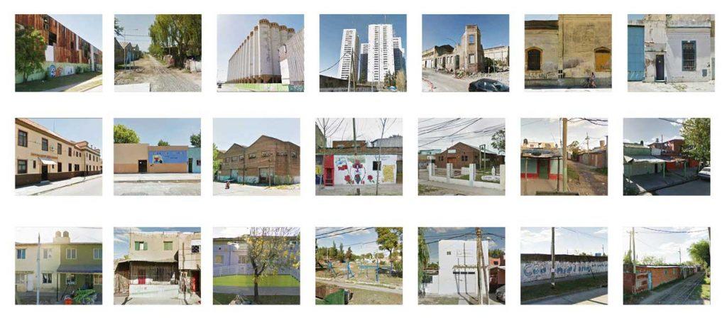 Mosaïque d'ambiances et d'architectures d'Avellaneda