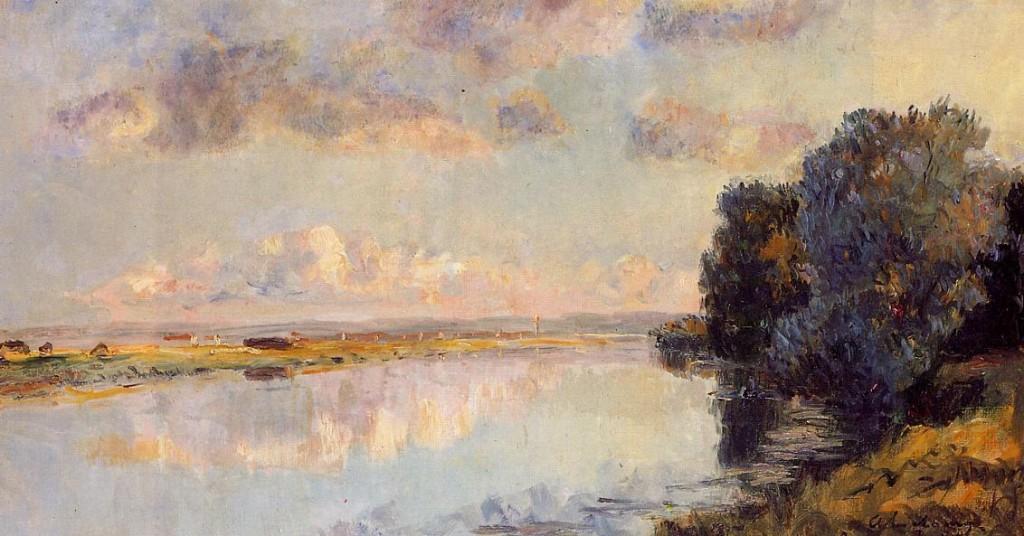 Albert-Lebourg-les rives de la seine à Maison-Lafitte